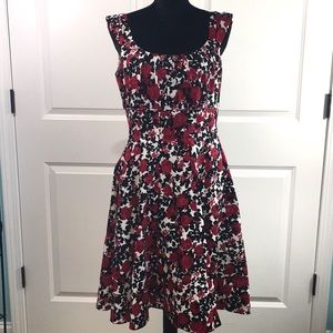 White House Black Market Fit and Flare Dress